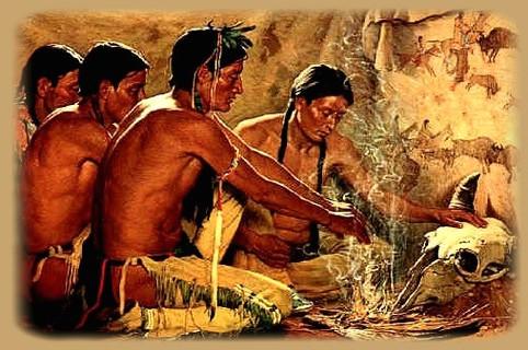 Indiens-tête-bison